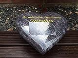 Granito Corazón Incluye grabado y apoyo–Lápida...