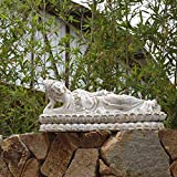Sunferkyh Jardín de esculturas Porche óxido de...